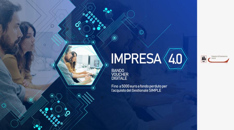 """Bando """"voucher digitali I4.0"""": fino a 5 mila euro per l'acquisto di gestionali aziendali"""