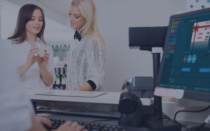 software per la gestione della vendita al banco
